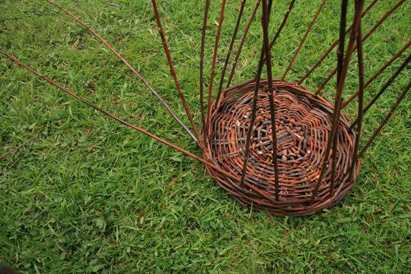 Плетение из ивовых прутьев для начинающих