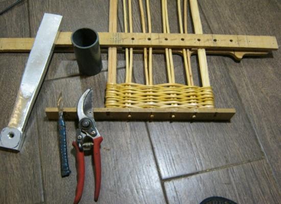 плетение из лозы для