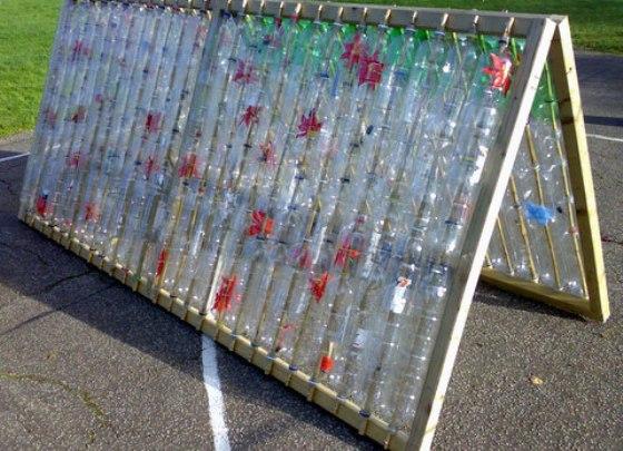 Теплицы своими руками пластиковыми бутылками