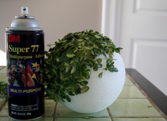 Как сделать горшок с искусственной травой 100