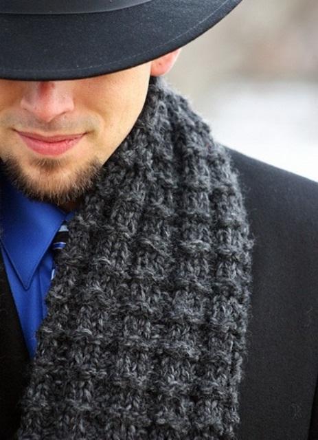 Примеры вязания шарфов