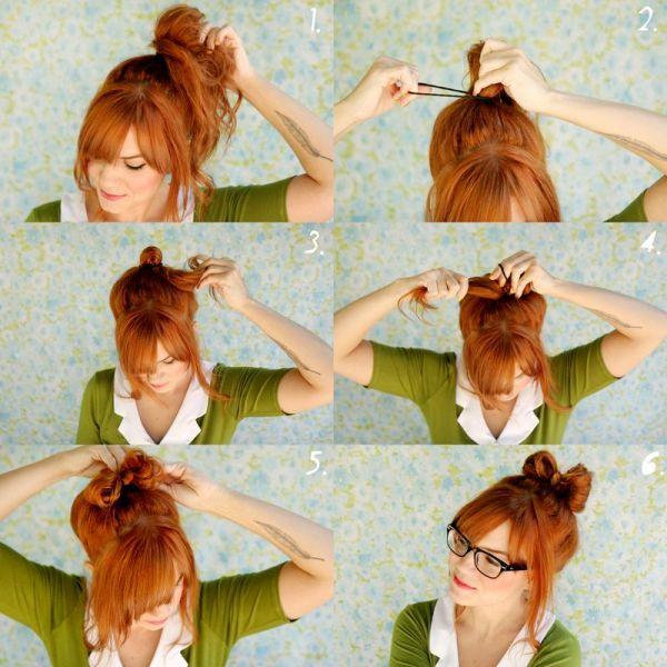 Прическа бантик. Как сделать прическу бантик из волос Как делается прическа бантик
