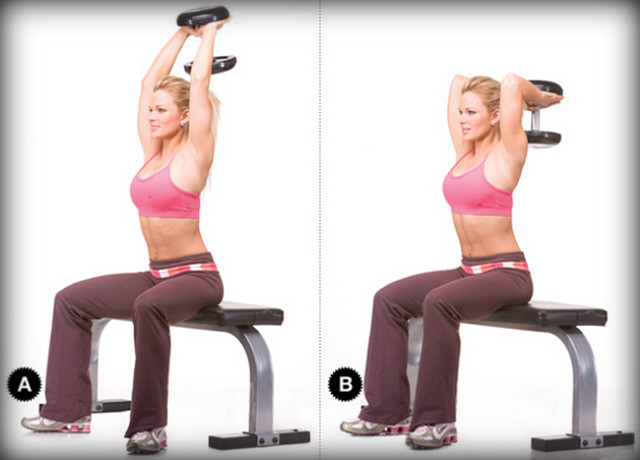 Упражнения на трицепс для