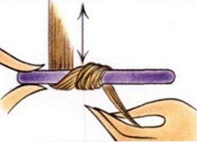 Как сделать папильотки для волос фото 582