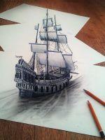 Как нарисовать 3d-рисунок?