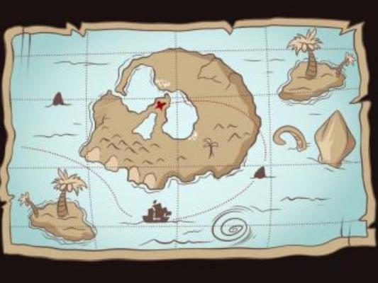 Как нарисовать карту сокровищ?