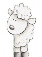 Как нарисовать мордочку овечки?