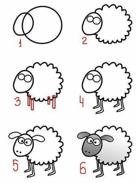 картинки смешные как нарисовать