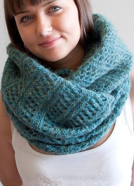 Как носить шарф-.