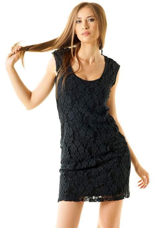 Черные платья для клуба