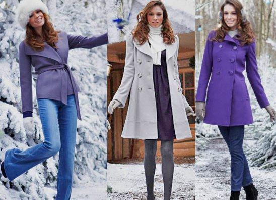 Как стильно одеваться женщине зимой