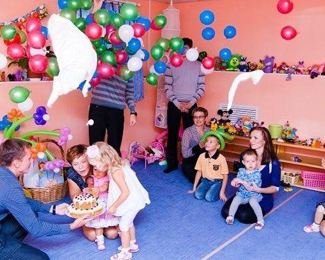 День рождение двухлетнего ребенка