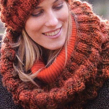 Красиво завязать шарфик на шее