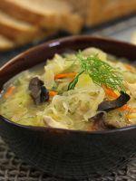 Как приготовить щи из свежей капусты?