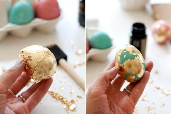 Как разукрасить яйца на пасху 10