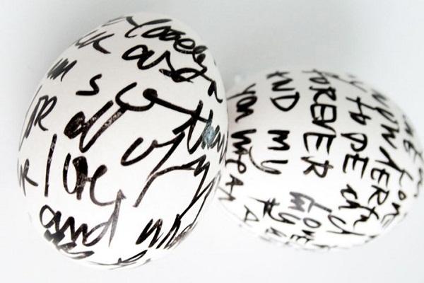 Как разукрасить яйца на пасху 8