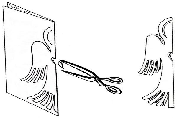 Как из бумаги сделать ангела своими руками