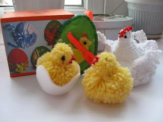 Цыплята своими руками поделки