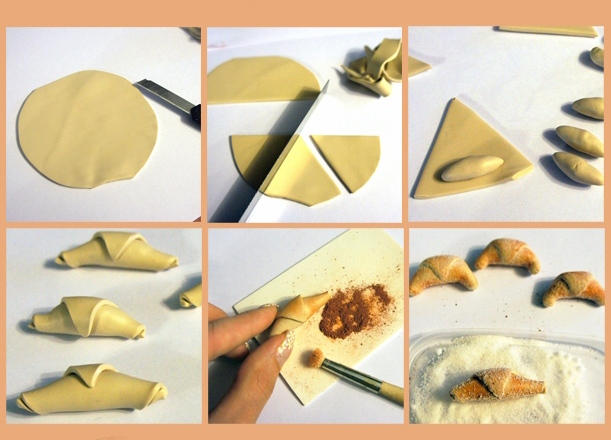 Как сделать своими руками из пластилина еду для кукол