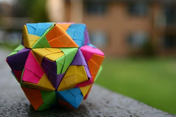 Как сделать кусудамуиз треугольников фото 440