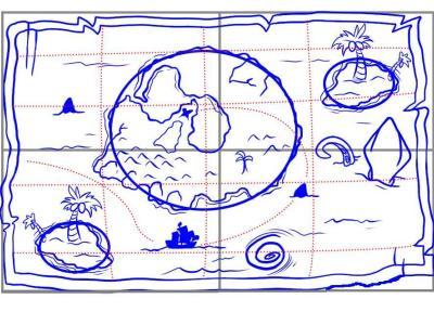 Карта сокровищ своими руками нарисовать фото 108