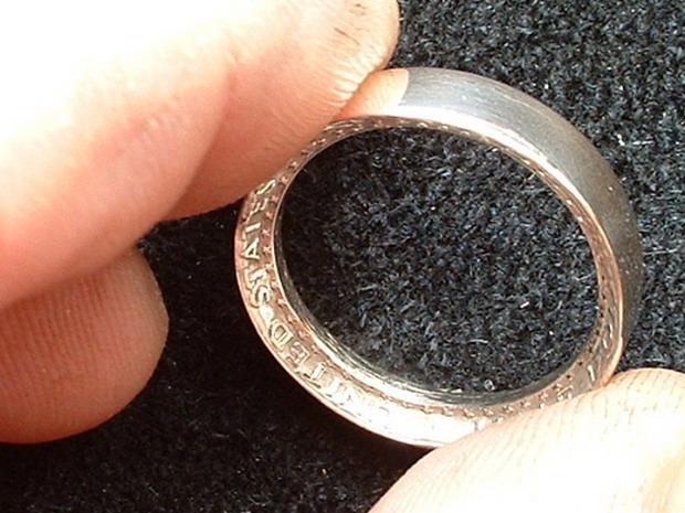 Как сделать кольцо своими руками.