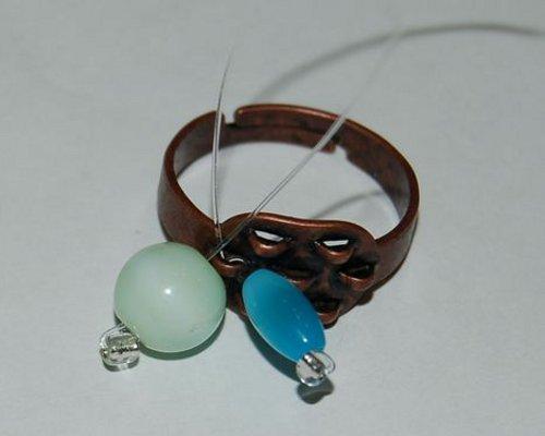 Как сделать кольцо из пластики 8