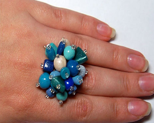 Как сделать кольцо из пластики 9