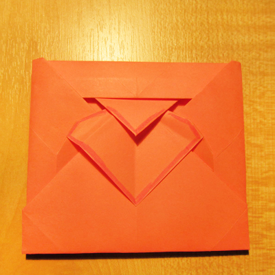 Как сделать конверт из бумаги без клея