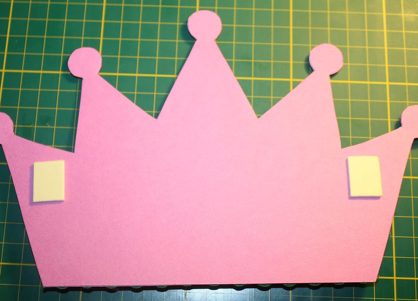 Корона из бумаги своими руками. Шаблон для вырезания 98