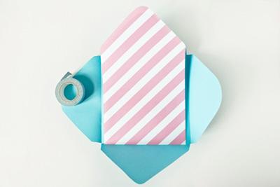 Как сделать конверт без клея и скотча