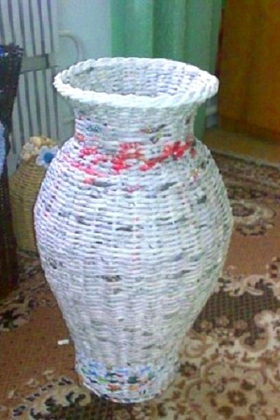 Как сделать напольную вазу своими руками из банки фото 326