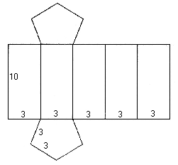 как сделать шестигранную призму из бумаги пошаговая инструкция
