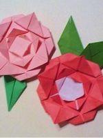 Как сделать розочку из бумаги?