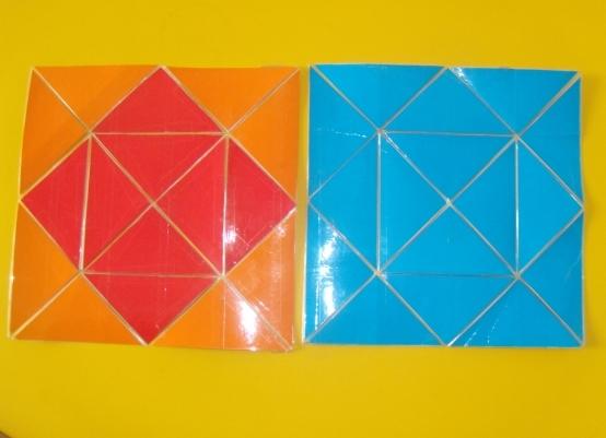 Как сделать из бумаги волшебный квадрат