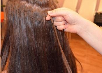 как удалить клей с волос