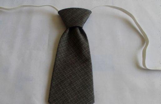 Сшить галстук на резинке своими руками выкройка
