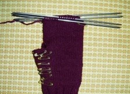 как связать перчатки спицами 6