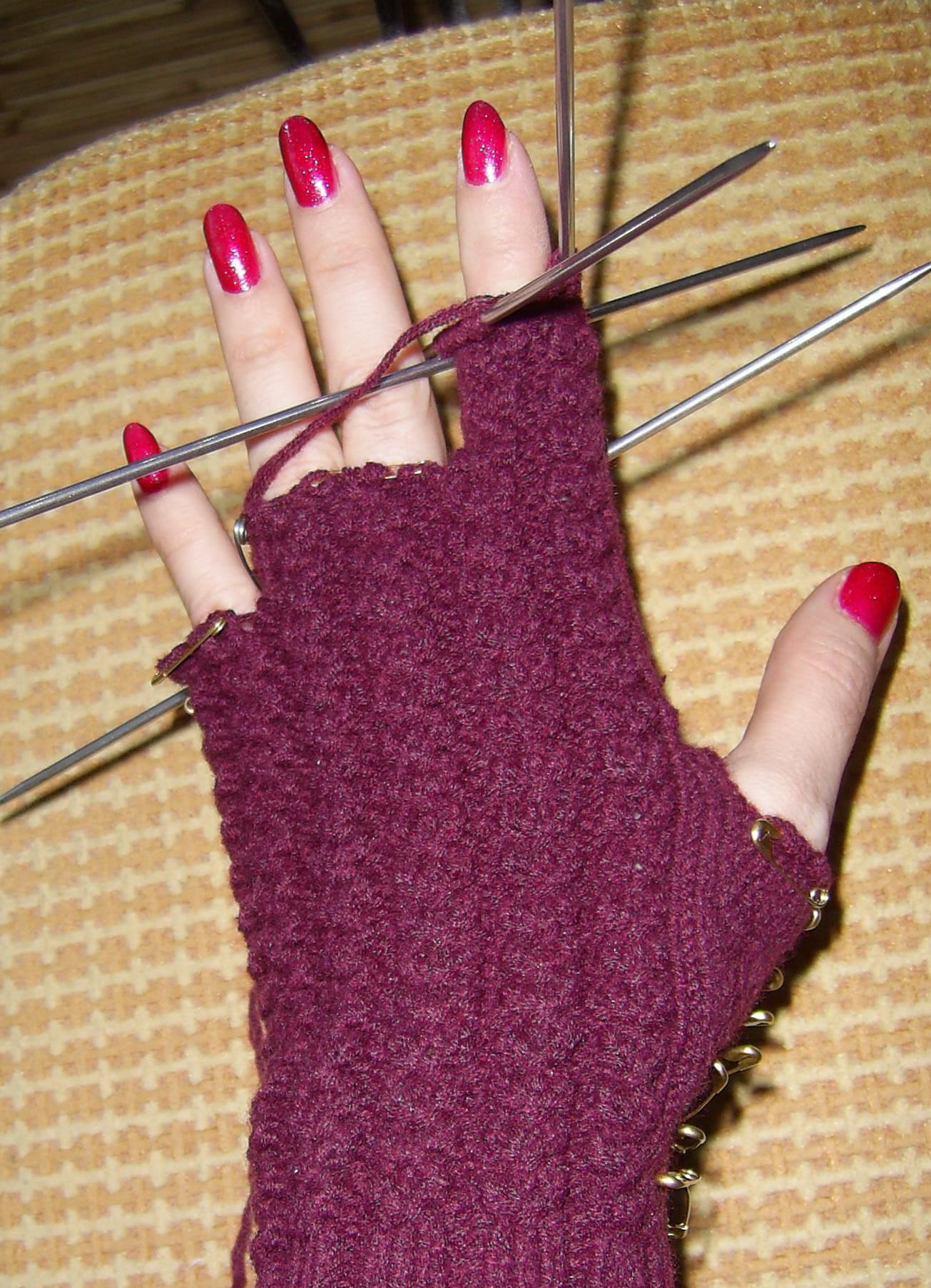 Перчатки для девочек своими руками