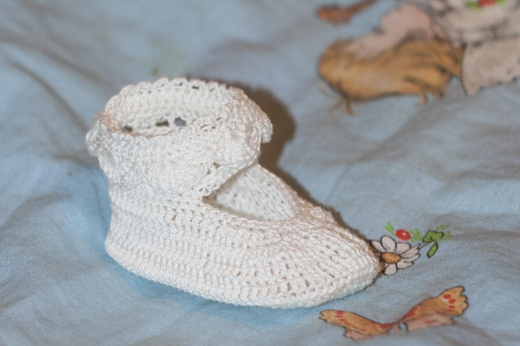 Детские носки крючком для начинающих