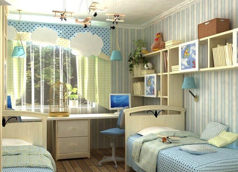 как украсить комнату подростка