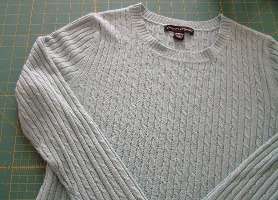 Украсить свитер своими руками