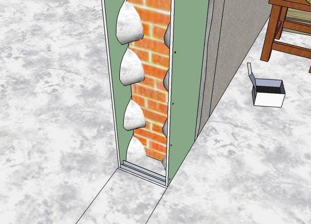 специально разработанного как уменьшить дверной проем гипсовым клеем это