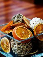 Как засушить апельсины для декора?