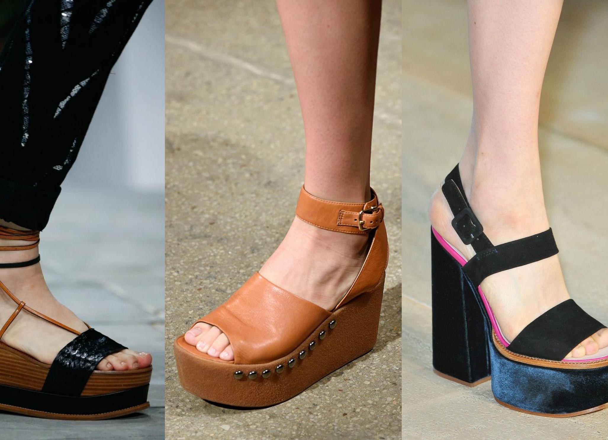 Мода на летнюю обувь фото