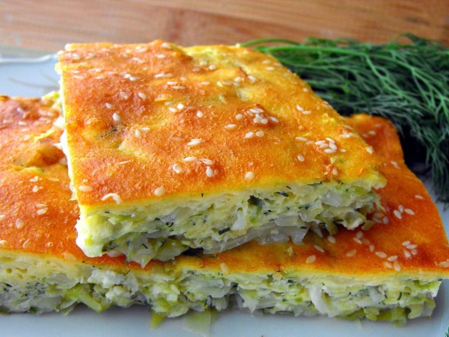 Заливные пироги с капустой рецепты