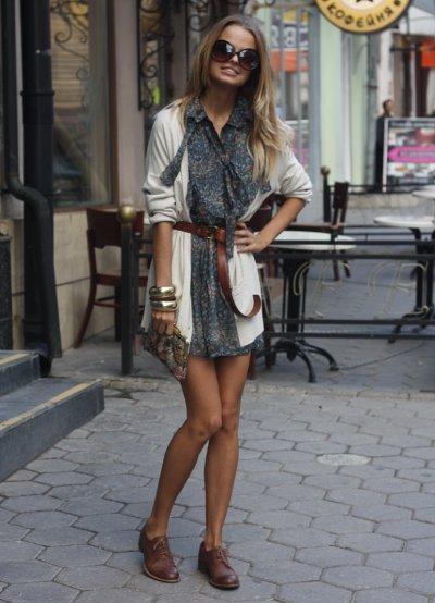 Ботинки и платье