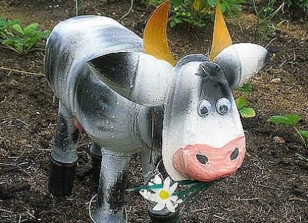 Корова на даче своими руками