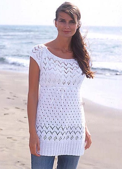 Модные туники для полных женщин