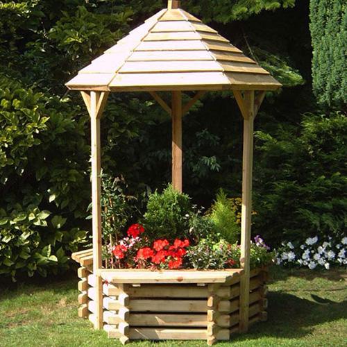 Садовый дизайн колодец
